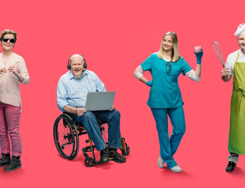 Cilvēki ar invaliditāti dara citādi – izdara tāpat!