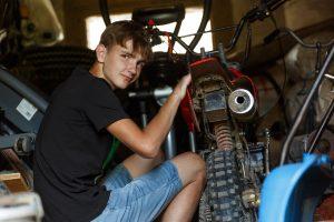 Puisis labo motociklu
